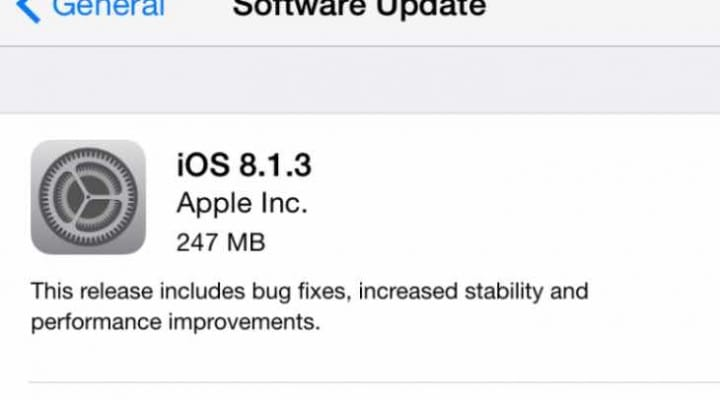 iOS 8.2 release urgency to fix persistent problems