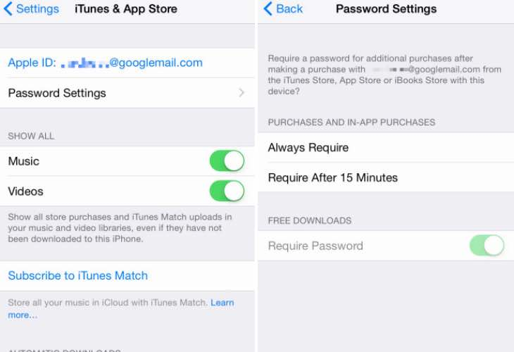 iOS 8.3 includes new password configuration options