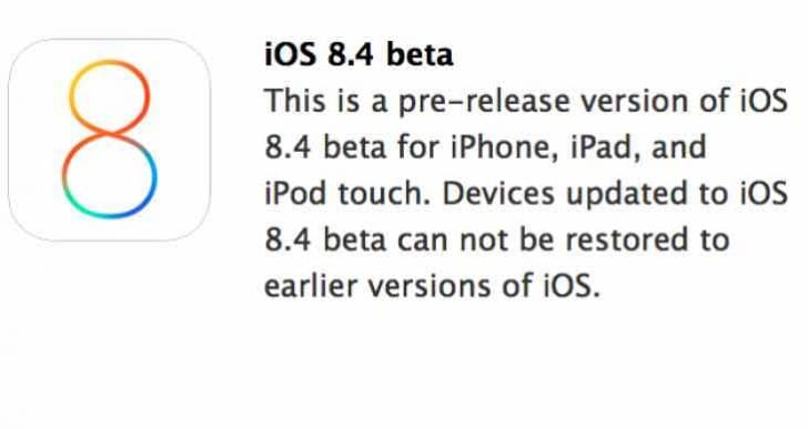 iOS 8.4 release time within 24 hours