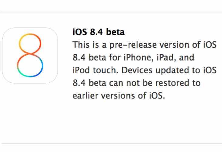 iOS 8.4 public release