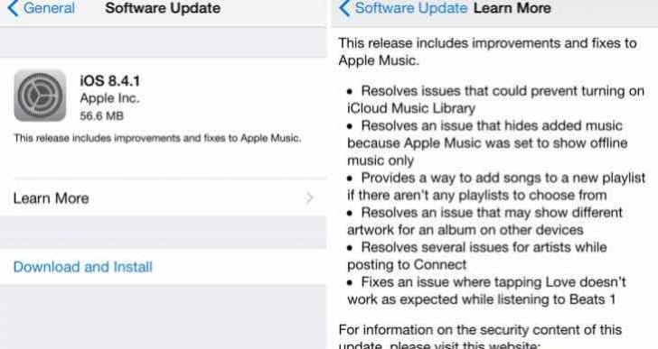 iOS 8.4.2 release uncertainty before iOS 9 Gold Master