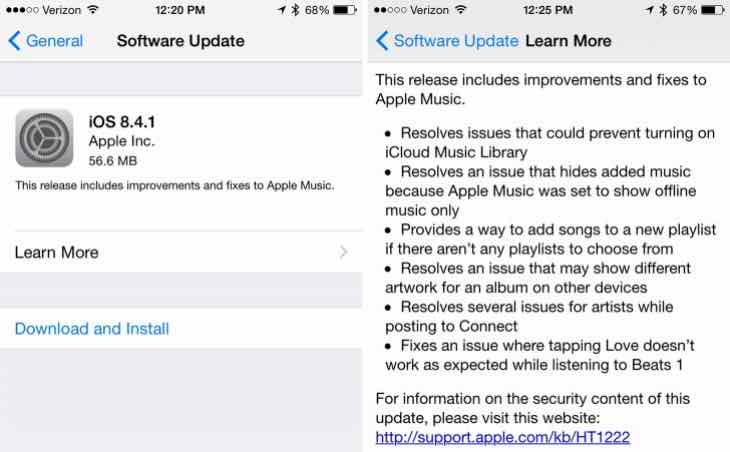 iOS 8.4.2 release uncertainty