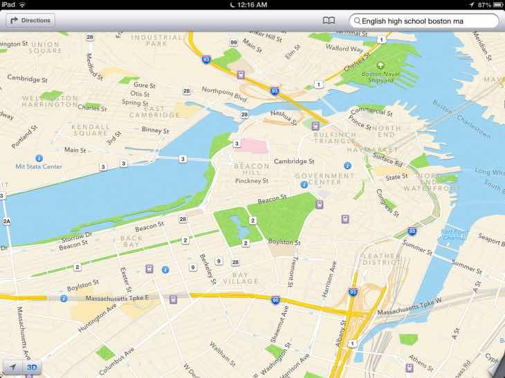 iOS 9 Maps
