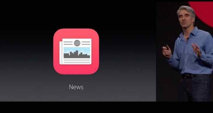 iOS 9 News app missing, location hunted in UK