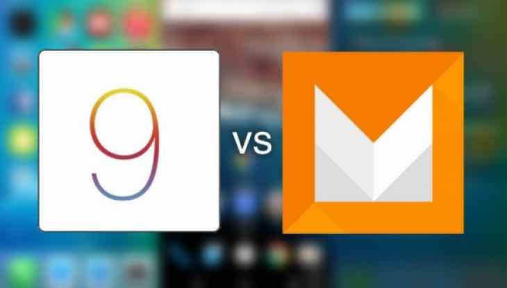 iOS 9 Vs Android M