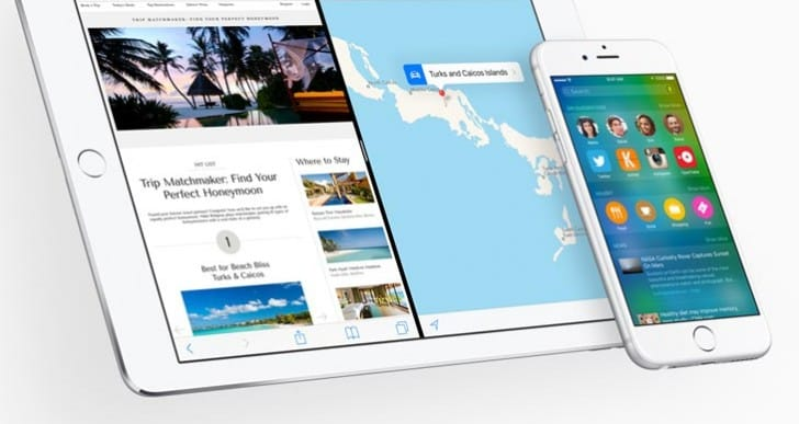 iOS 9 beta 3 download time today