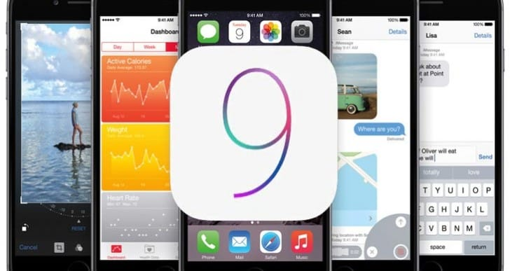 iOS 9 with OS X 10.11 preview at WWDC 2015
