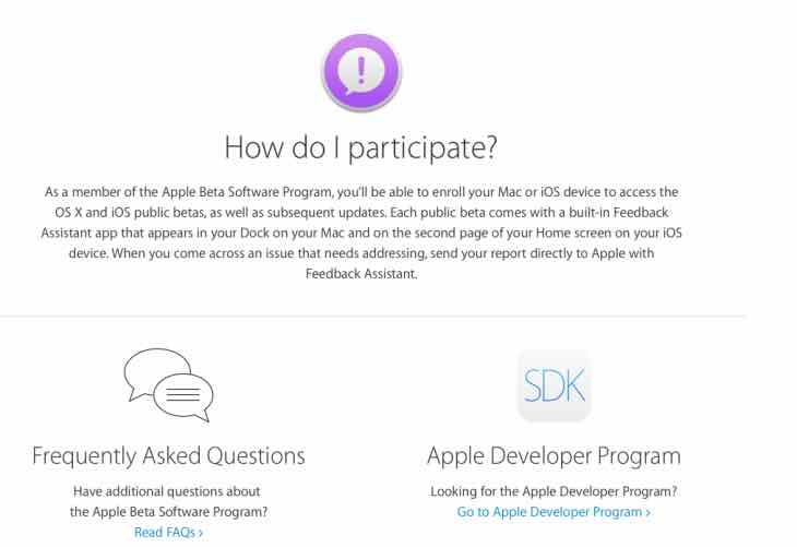 iOS 9 public beta now live
