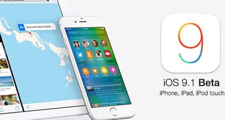 iOS 9 update today from 9.1 public beta
