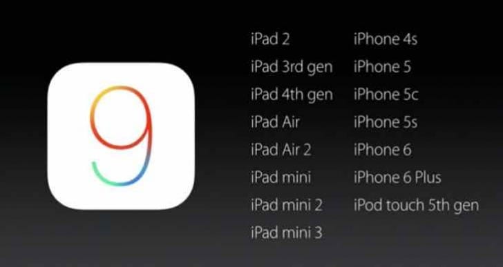 iOS 9 upgrade postponement for 9.0.1