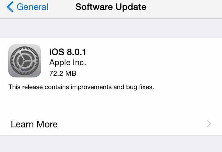 iOS 9.01 update issues
