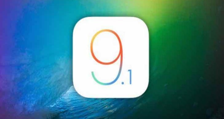 iOS 9.1 finally released to the public