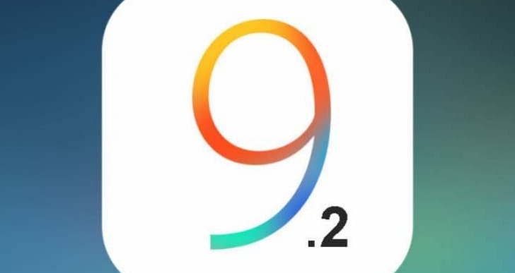 iOS 9.2.1 update notes without new features