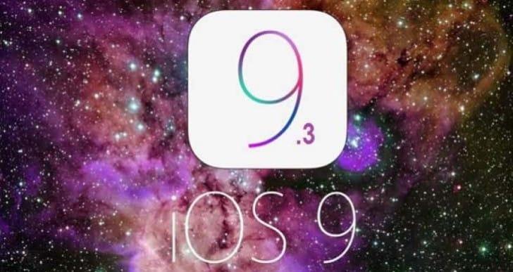 iOS 9.3 build 13E236 fixes iPad 2 bug
