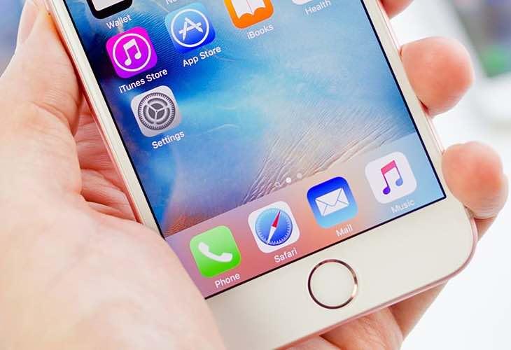 iOS 9.3 glitch