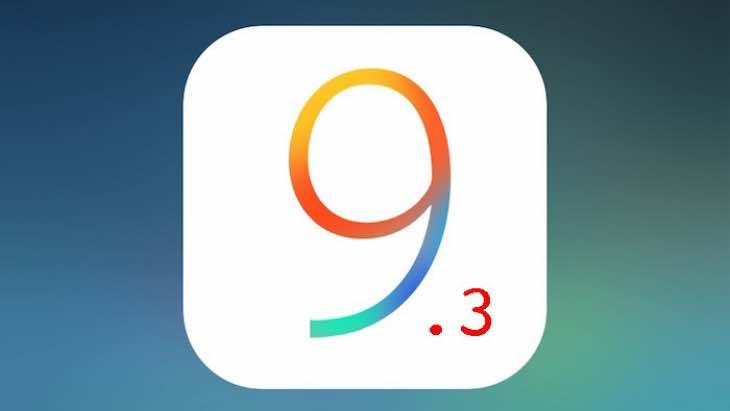 iOS 9.3 public beta