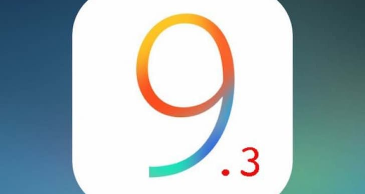 iOS 9.3.2 fixes some 9.3.1 problems