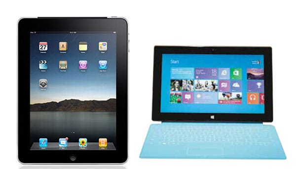 iPad 3 vs. Surface is a Microsoft problem