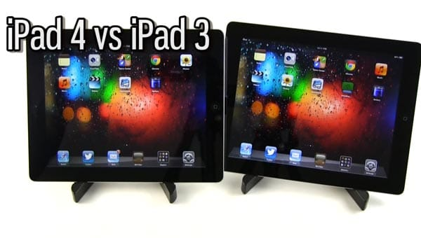 iPad 3 vs. iPad 4 speed, gaming and camera