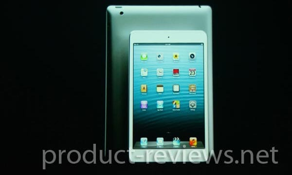 iPad 4, mini features visually presented