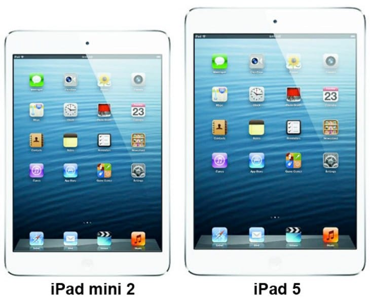 The new iPads are just hours away.