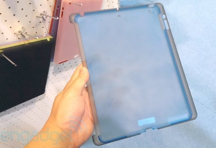 iPad 5 design shift shown in cases once again