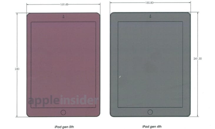 The iPad 5 looks as though it will be a major refresh
