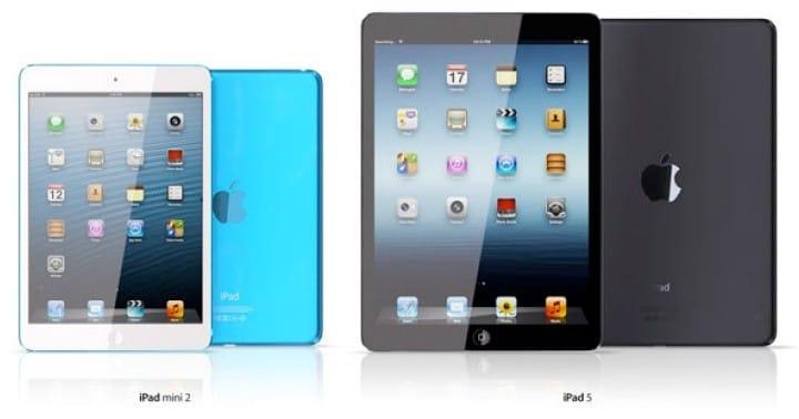 iPad 5, mini 2 keep competitor parts