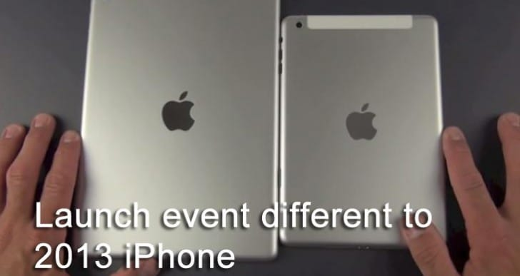 iPad 5, mini 2 launch event differs from 2013 iPhone