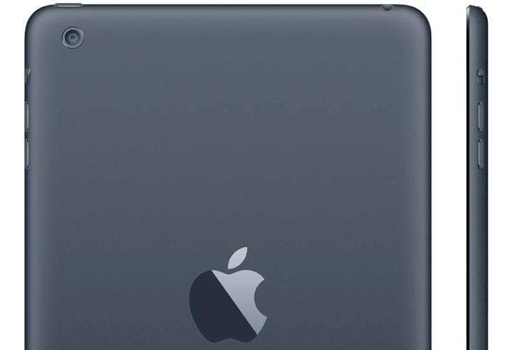 iPad 5 rear shell in its entirety, allegedly