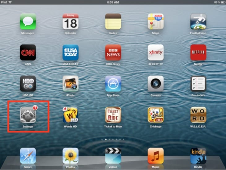iPad 5 release to coincide with iOS 7.1 update