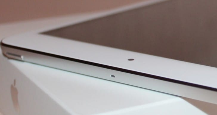 iPad 5 smaller bezel key for new features