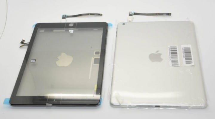 iPad 5 to continue color options