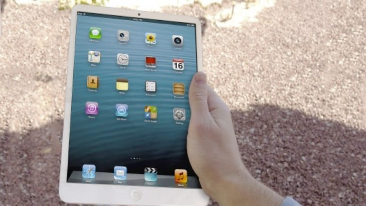 It is a safe bet the iPad 5 will have a thinner bezel