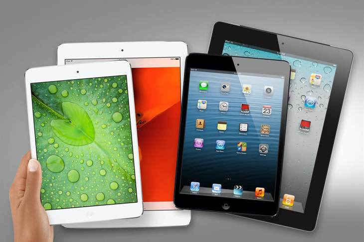iPad Air 2 and mini 3 screen for 2014