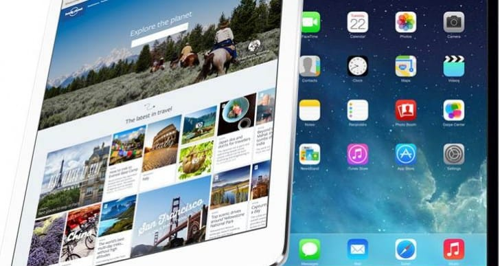 iPad Air 2 and mini 3 screen improvement for 2014?