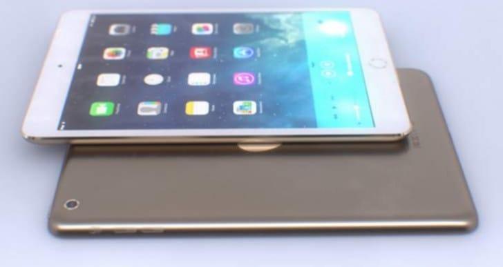 Enhanced iPad Air 2 color options