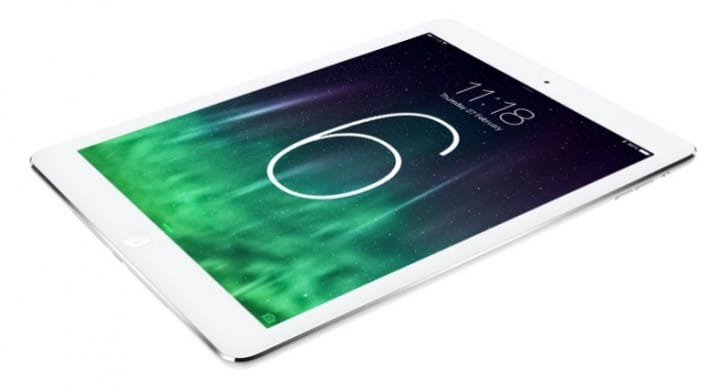 iPad 6 WWDC announcement slim for today