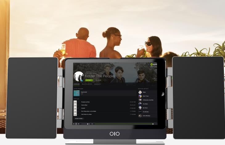 iPad Air 2 speaker case