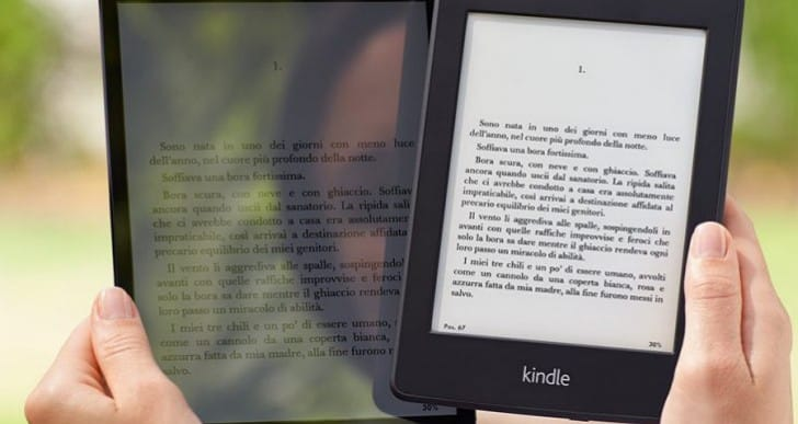 iPad Air 2 with Kindle-like usability in sunlight