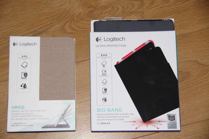 iPad Air Big Bang and mini Hinge cases review
