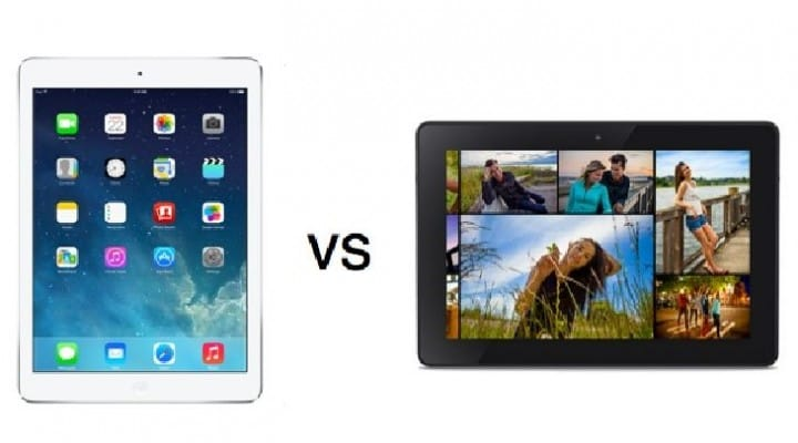 Amazon's take on iPad Air vs. Kindle Fire HDX
