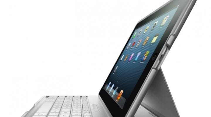 iPad Air accessories includes a case with keyboard