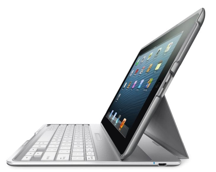 ipad air accessories includes a case with keyboard product reviews net. Black Bedroom Furniture Sets. Home Design Ideas