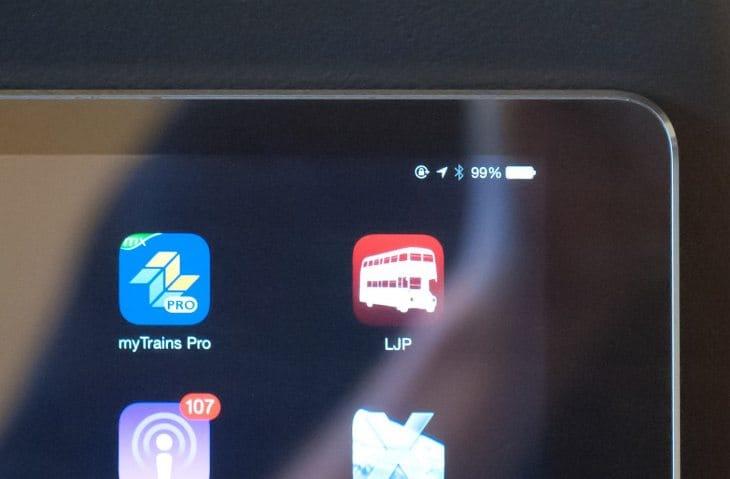 iPad Air iOS 8 battery drain