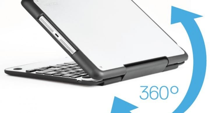 iPad Air innovative CruxENCORE keyboard case