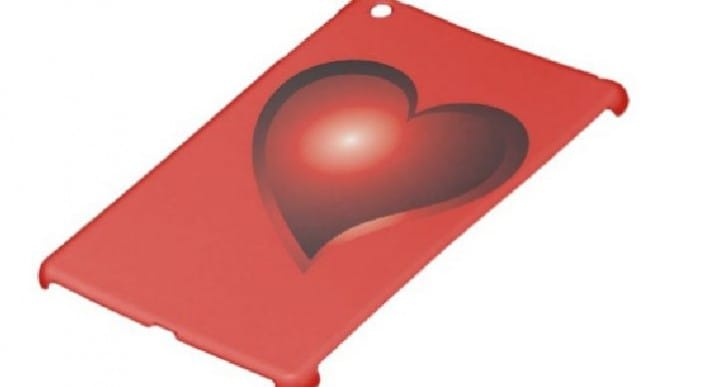 Valentine's Day iPad Air and Mini cases