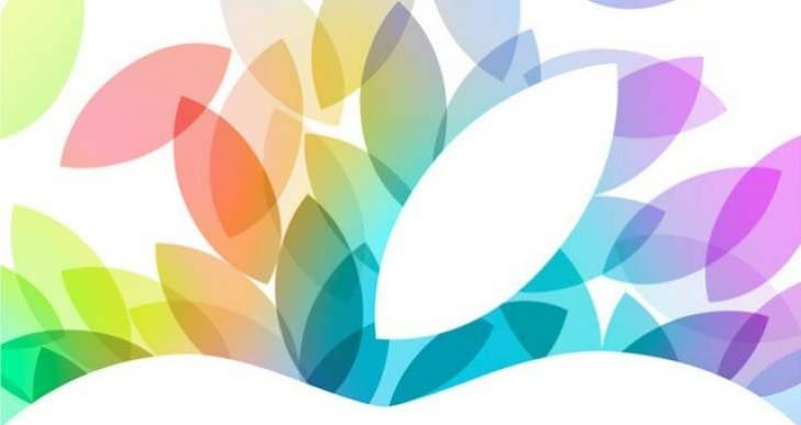 iPad October 2014 event date considered