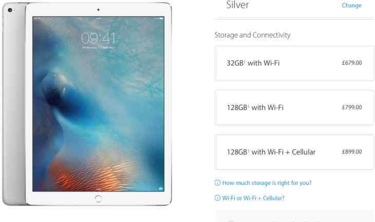 iPad Pro delivery date