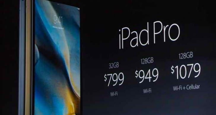 iPad Pro pre-order price drop for added incentive